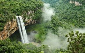 Cascata do Caracol, State Park, Caracol, Canela, Rio Grande do Sul, Brasil