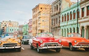 Havana, Cuba, Гавана, Куба, улица, ретро
