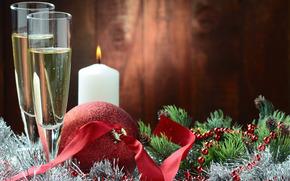 wakacje, Christmas Wallpaper, Szczęśliwego nowego roku