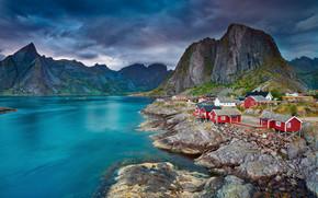 Lofoten Islands, norway, landscape
