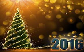 Новый год, 2016, праздник, дата, ёлка