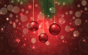 Sfondi di Natale, Giocattoli, Palloncini