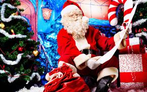 Papai Noel, Papai Noel, Ano Novo, Natal, férias