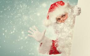Papá Noel, Papá Noel, Año Nuevo, Navidad, fiesta