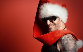 Papá Noel, Papá Noel, Año Nuevo, Navidad, hombre, fiesta