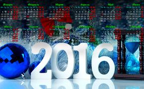Calendario para 2016, 2016, Calendario de Navidad