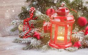 Las luces de Navidad, Fondos de Navidad, abeto, Juguetes