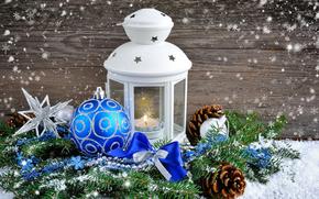Las luces de Navidad, Fondos de Navidad, Juguetes, nieve