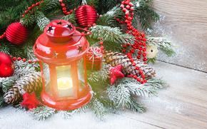 Christmas lights, Christmas Wallpaper, fir-tree