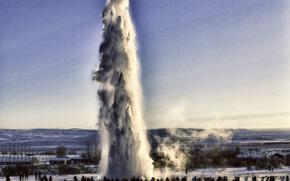 Geysir Strokkur, iceland, Geyser Strokkur, Iceland