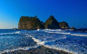 Sanshiro-jima Island, Nishi-Izu, Shizuoka, japan