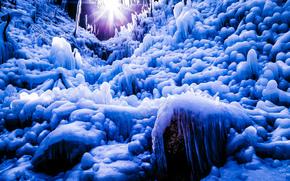 Shot at Ashigakubo, Saitama, Japan, Сайтама, Япония, ледяной лес, лёд, сосульки, пейзаж