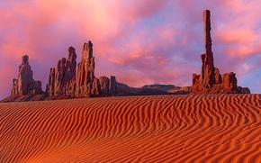 Monument Valley, Utah, Montagne, Rocce, paesaggio