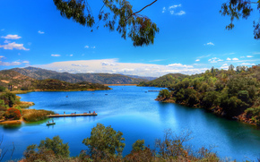 Dixon lake, located, Escondido, California