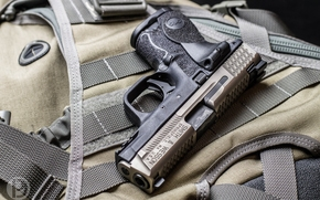 Smith & Wesson M&P9C, Smith & Wesson, M&P9C, пистолет, 9мм