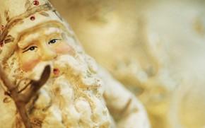 Дед Мороз, Санта Клаус, ёлочная игрушка, новый год, рождество, праздник