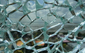 разбитое стекло, трещины, стекло, текстура