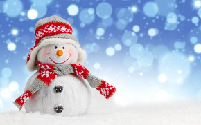 snowman, Snowmen, New Year, Christmas, holiday