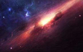 космос, вселенная, 3d, art