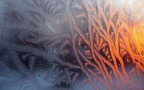фон, дизайн, текстура, замороженное стекло, мороз, стекло