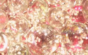STRUTTURA, Consistenza, brillare, orpello, bokeh, Strass, brillare, Palloncini, bolle, delicatamente