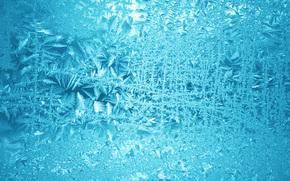 sfondo, progettazione, STRUTTURA, gelo sul vetro