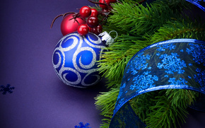 New Year, ornamentation, Christmas decorations, Needles, holiday