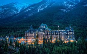 Banff Springs Hotel, Parco Nazionale di Banff, Alberta, Canada