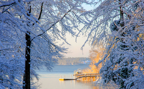 Lake Murray, South Carolina, winter