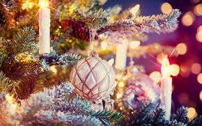 Año Nuevo, Fondos de Navidad, Navidad, fiesta, ornamentación
