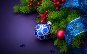 New Year, Christmas Wallpaper, Christmas, holiday, ornamentation