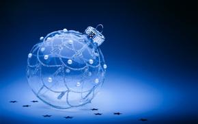 Capodanno, Sfondi di Natale, Natale, vacanza, ornamentazione