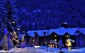 ペンバートンバレーロッジ, クリスマス, カナダ