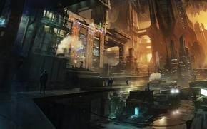 Satélite Reign, cidade, futuro