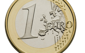 money, euros, coin, 1, one, finance, currency, Europe