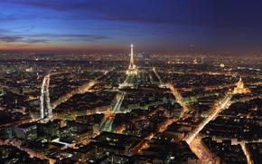 ville, tour, Paris