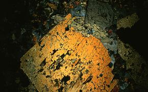 cristalli al microscopio, cristallo, microscopio, aumentare, foto, struttura, scienza, ricerca