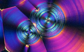 在显微镜下的结晶, 水晶, 显微镜, 提高, 照片, 结构, 科学, 研究
