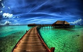 natura, spiaggia, mare