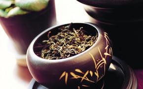 green tea, cup, crockery