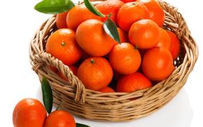 mandarini, tsytrusy, alimento, frutta