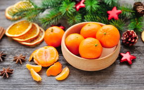 мандарины, цытрусы, еда, фрукты