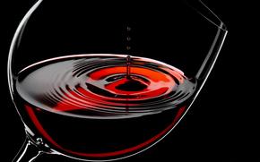 Bakal, wine, drops, Macro
