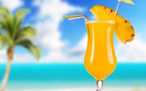 Tropical Cocktail, тропический коктейль, напиток