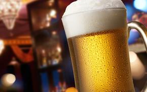 mug, birra, schiuma