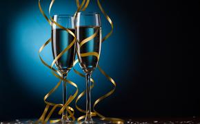 stemware, Tape, Champagne