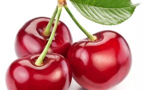 ягоды, черешня, еда
