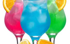 Cocktails, bevande, acqua