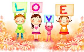 children, drawing, graphics, children's drawing, children, white background, story