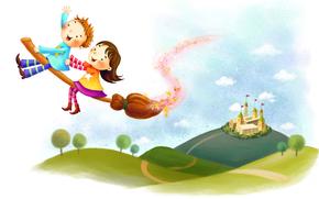 dzieci, rysunek, grafika, rysunek dzieci, dzieci, białe tło, historia